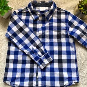 Gymboree boys button up shirt (3T)